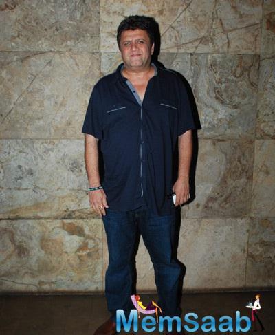 Filmmaker Rahul Dholakia At Special Screening Of Hollywood Film FURY