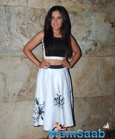 Richa Chadda Spotted At Hollywood Film Fury Special Screening In Mumbai