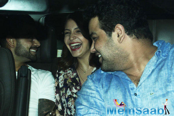 Virat Kohli And Anushka Sharma Shared A Laugh In The Car