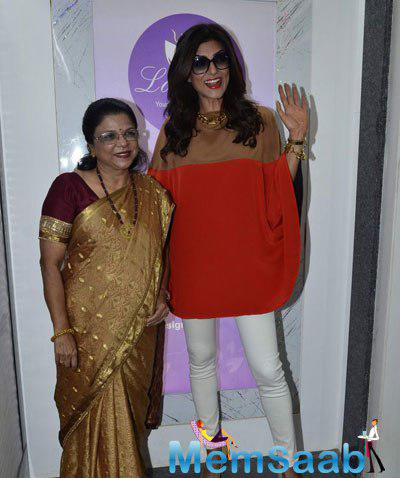 Sushmita Sen During The Launch Of A Genetic Based Anti-Ageing Solution