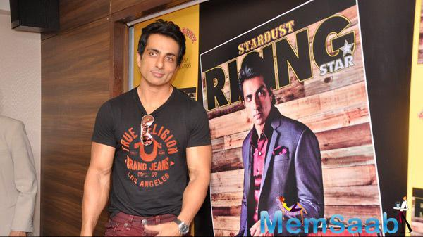 Sonu Sood Launches The Latest Issue Of Rising Star Magazine Cover