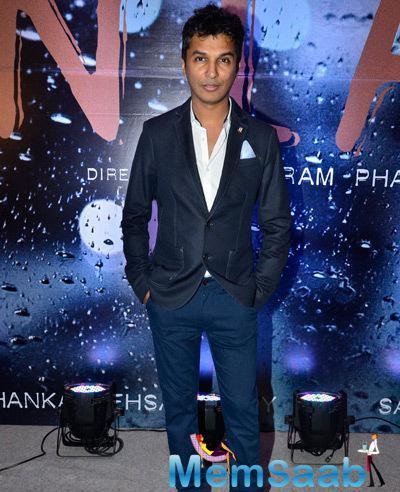 Designer Vikram Phadnis Dappers Look In Suit During Announcement Press Meet Of Vikram Phadnis Debut Film NIA