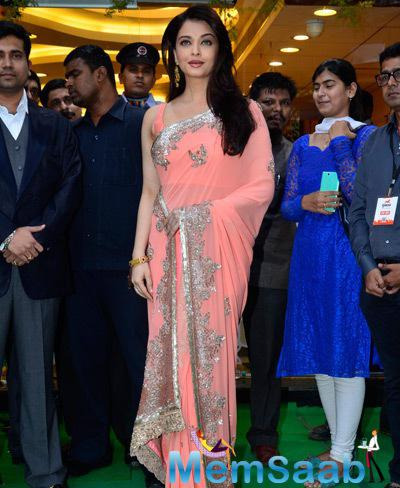 Aishwarya Rai Bachchan Arrived The Opening Ceremony Of Kalyan Jewellers New Branch