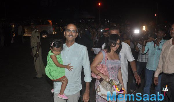Rohan Sippy Arrived With His Kid At Aaradhya Bachchan 3rd Birthday Party