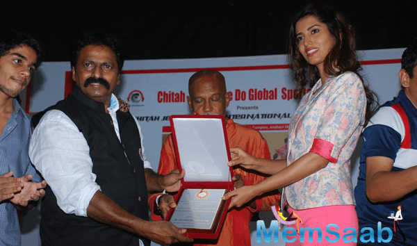 Manasvi Mamgai Attended Cheetah Meet For Birthday Of Bruce Lee