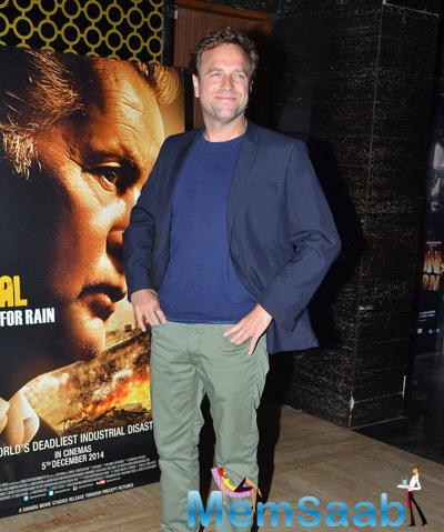 David Brooks Strikes A Pose During The Premiere Of Film Bhopal A Prayer For Rain