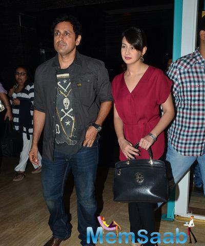 Parvin Dabas With Wife Preeti Jhangiani Spotted During The Premiere Of Film Bhopal A Prayer For Rain
