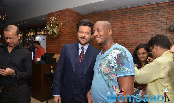 Anil Kapoor Posed At Nelson Mandela First Death Anniversary Function