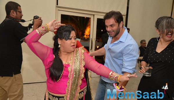 Bharti Singh And Sohail Khan Shared A Funny Moment On The Dance Floor