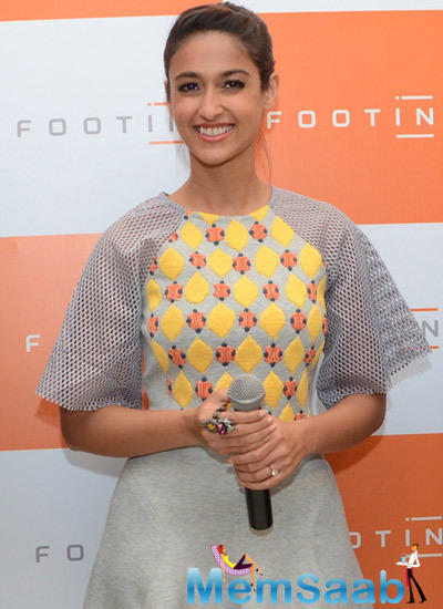 Ileana D'Cruz Strikes A Smiling Pose During Footin Store Launch Event