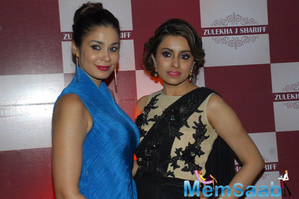 Shaheen Abbas Graced During The Launch Of Zluekha Shariff Collection