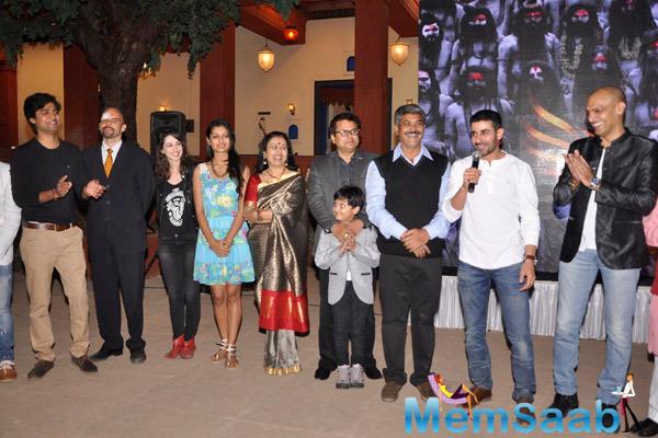 Gautam Rode Addresses The Media,Manish Wadhwa And Other Celebs At The Launch Of Life Ok Mahakumbh Serial