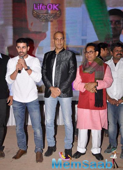 Gautam Rode And Manish Wadhwa Launched Life Ok Mahakumbh Serial