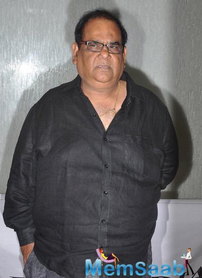 Satish Kaushik Clicked At Kavita Seth Fund Raiser Concert For Alert India