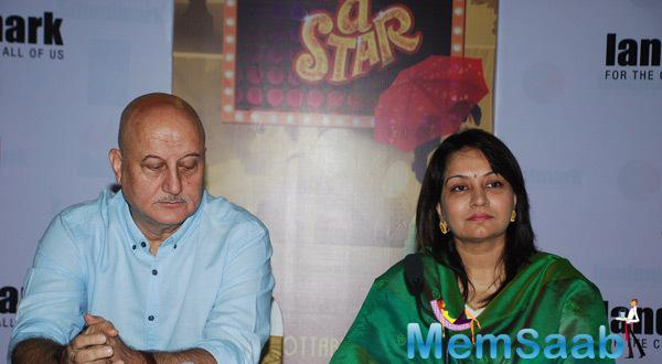Anupam Kher Launches Gajra Kottary's Book Once Upon A Star