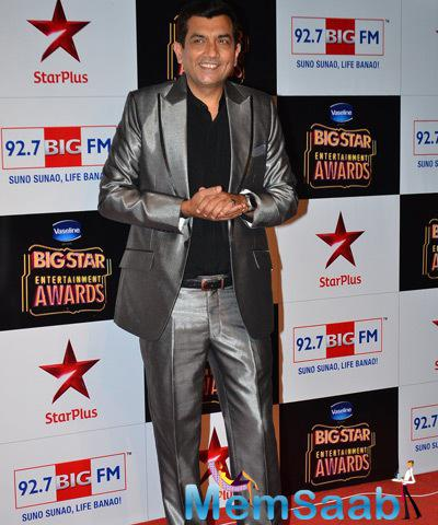 Masterchef Sanjeev Kapoor Snapped At  BIG STAR Entertainment Awards