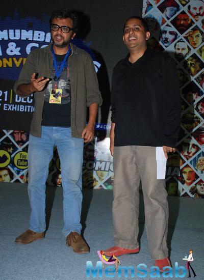Dibakar Banerjee Promotes Detective Byomkesh Bakshy At Mumbai Film And Comics Convention 2014