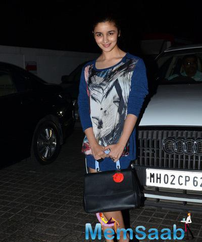 Alia Bhatt Attended A Screening Of Anurag Kashyap's Much-Awaited Movie Ugly