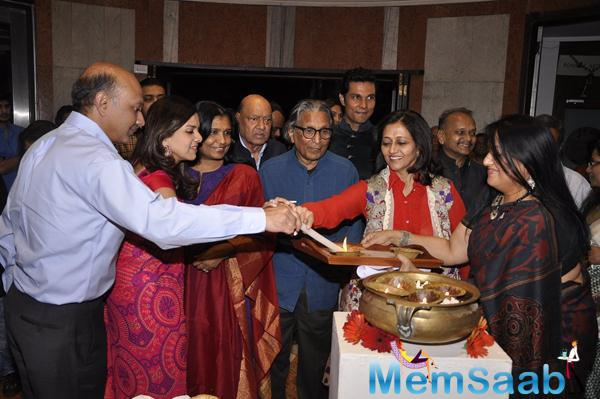 Art Exhibition Inauguration Still Randeep Hooda As The Guest Of Honour At This Exhibition