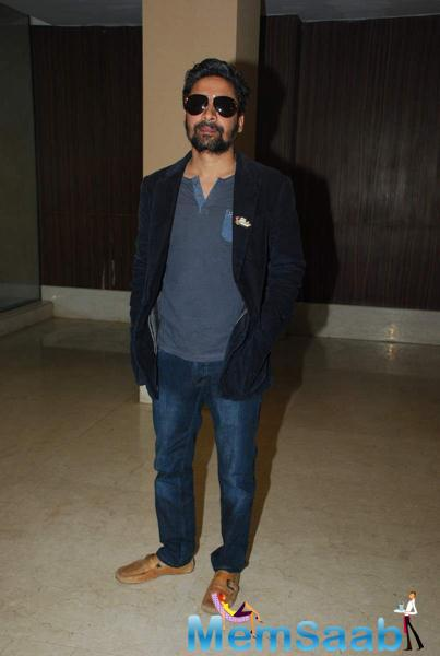 Celebs Pose For Cam During The Script Reading Session Of Jazbaa