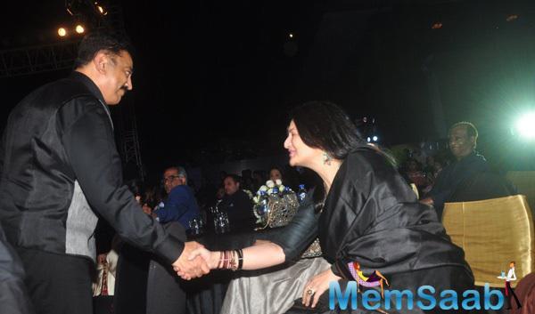 Sarika Greets Estranged Hubby Kamal Haasan With A Smile At Shamitabh Music Launch Event