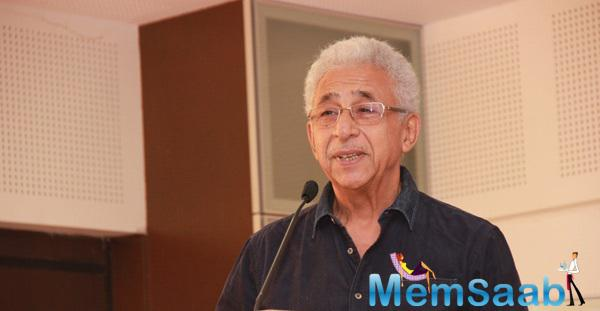 Naseeruddin Shah Spoke Few Words During The Launch Of St Pauls Institute New Facility