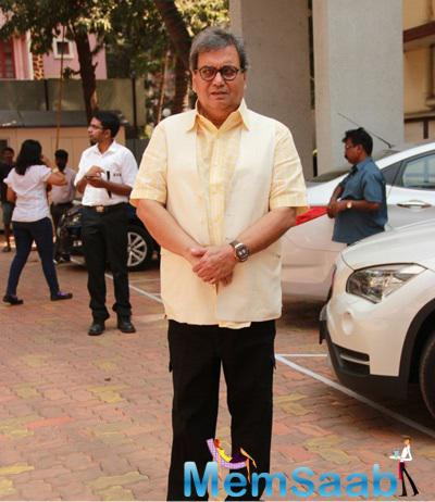 Subhash Ghai Arrived At The St Pauls Institute New Facility Launching Event