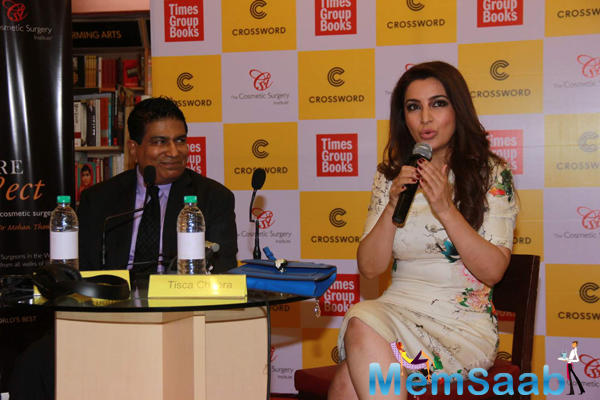 Tisca Chopra Interact With Media During Thomas Book Picture Perfect Launch Event