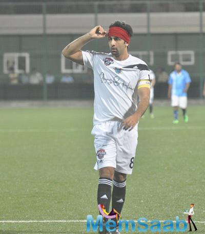 Ranbir Kapoor Played Charity Football Match In Mumbai