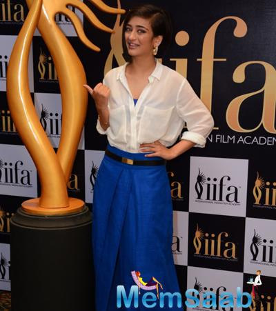 Akshara Haasan With A Cute Look Attended 16th IIFA Voting Weekend Event