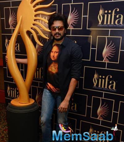 Riteish Deshmukh With A New Look At 16th IIFA Voting Weekend