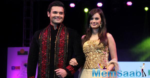 Mahaakshay Chakraborty And Evelyn Sharma Graced On Ramp During Smile Foundation Charity Show