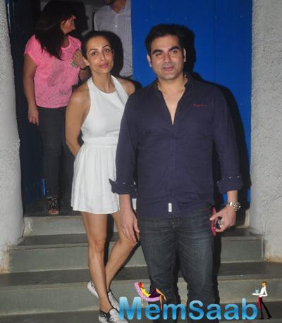 Malaika And Arbaaz Khan Were Out For Dinner At The Olive Restaurant In Mumbai