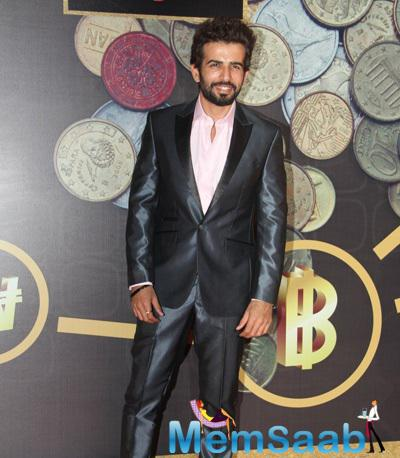 Jay Bhanushali Flashes Smile During The Times Now ICICI NRI Of The Year Award Function