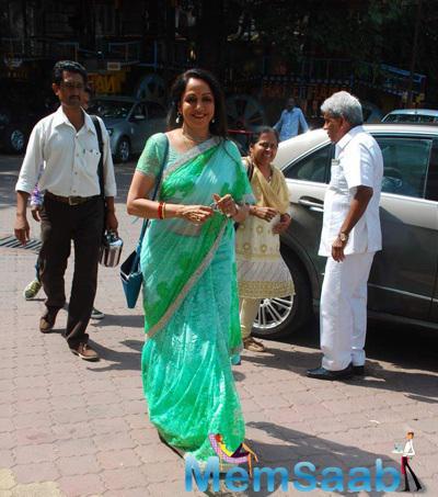 Hema Malini Arrives At Mathura Mahotsav