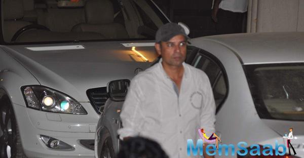 Atul Agnihotri Visit To Salman Before The Court's Verdict