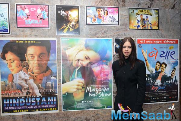 Kalki Koechlin Attend The 10th Annual Habitat Film Festival Inauguration Event