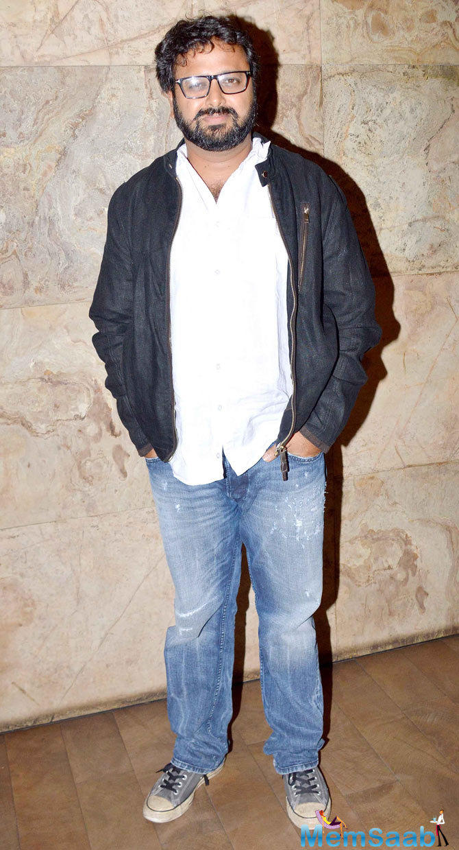 Nikhil Advani Attend The Screening Of Tanu Weds Manu Returns