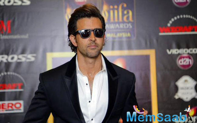 Hrithik Roshan Launched To Dad With Love Book At IIFA Malaysia