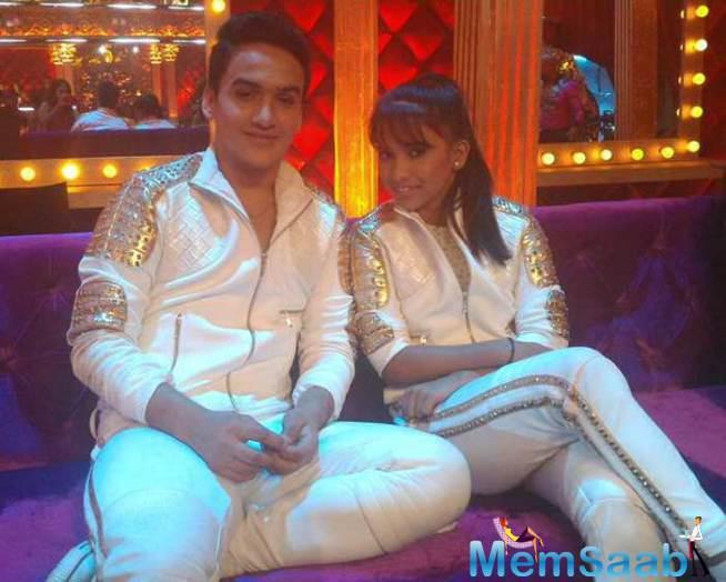 TV's Maharana Pratap Faisal Khan Strikes A Pose With His Choreographer