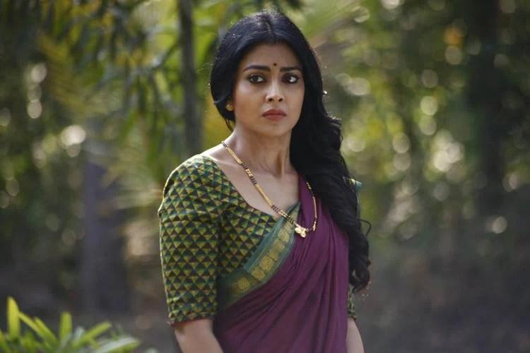 Shriya Saran Traditional Beautiful Look Still From Drishyam Movie
