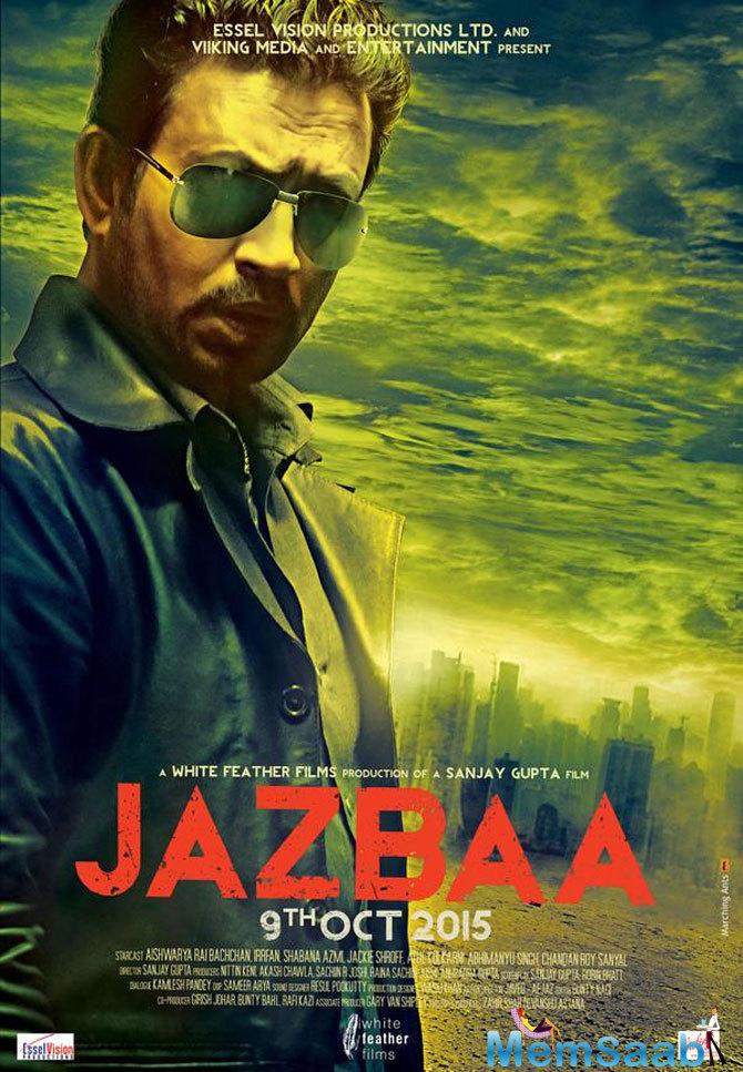 Irrfan Khan To Play Key Role In Jazbaa