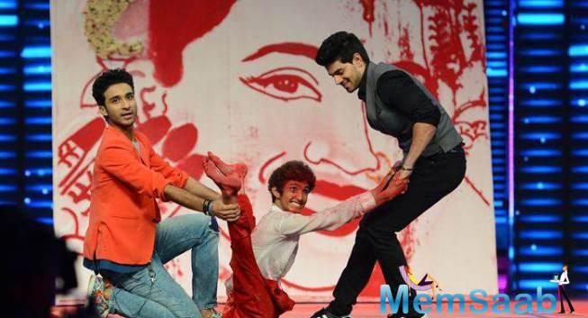 Sooraj Pancholi Was Also Seen Dancing And Having Some Good Time On The Stage With Dancer Rahul Burman