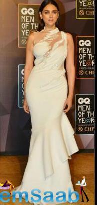 Sizzling Aditi Rao Hydari At The Red Carpet Of GQ Awards