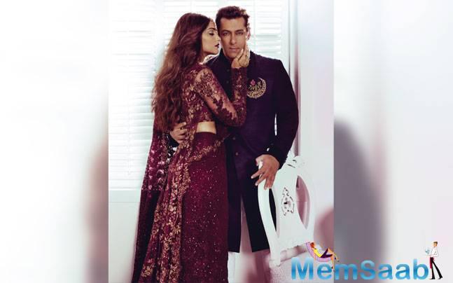 Salman Khan And Sonam Kapoor Stunning Romantic Look For Harper's Bazaar Bride