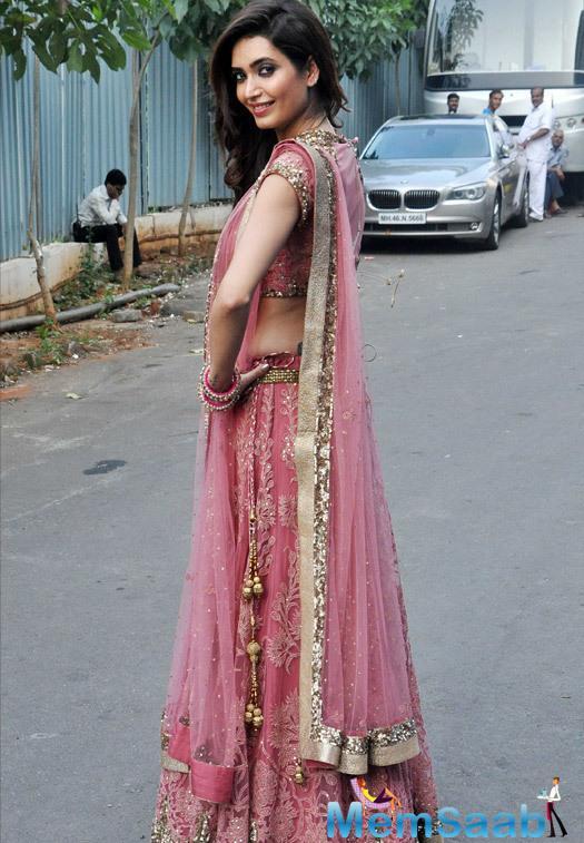 Karishma Tanna Gorgeous Look At Life OK Prem Ki Diwali Event