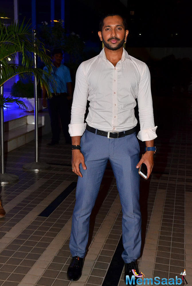 Choreographer Terence Lewis Graced Sajid's Birthday Celebration