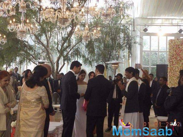 Best Buddies Akshay Attended The Both Ceremony Of Asin's Wedding, And Said It Was Simple But Lovely
