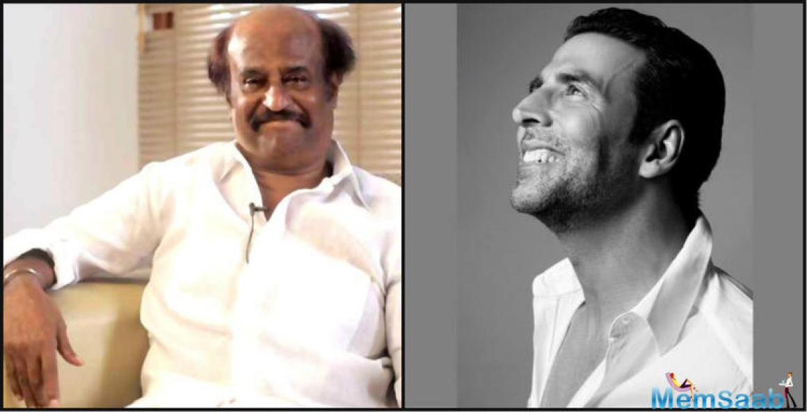 Akshay is yet to begin filming his debut Tamil film Enthiran 2 with Rajinikanth but actor Akshay Kumar is already in awe of the southern superstar