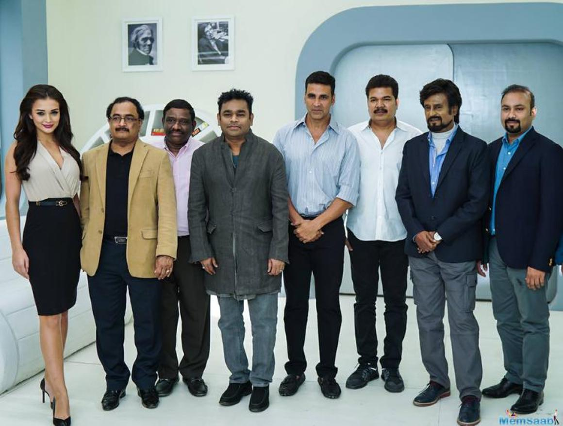 The film directed by Shanmugam Shankar, Enthiran 2 will co-star Amy Jackson in the female lead. The Oscar-winning team of composer A R Rahman and sound designer Resul Pookutty have also been roped in for the film